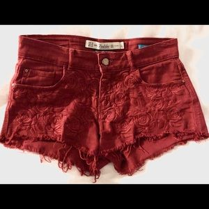 Zara Trafaluc Denim Shorts